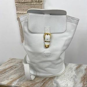 Versace Couture White Vintage 90's Sling Bag